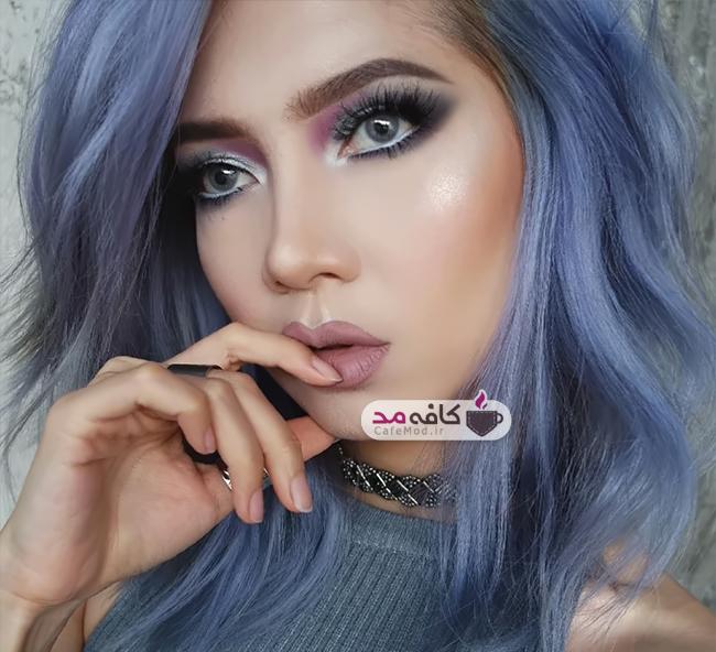 مدل آرایش صورت Elsa Amelia