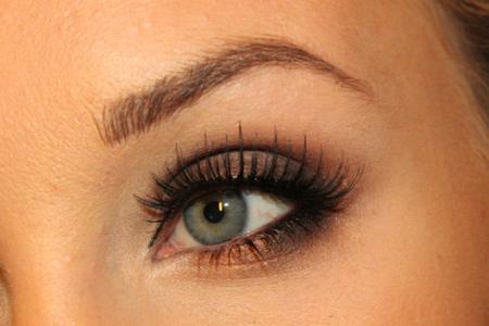 آموزش آرایش چشم ساده 2