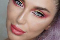 مدل آرایش صورت Mirellamendes