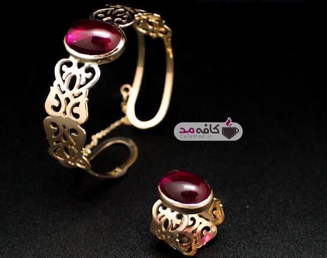 مدل زیورآلات طلای ایرانی Zarara