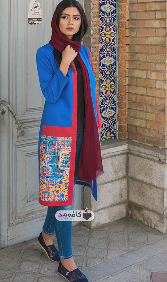 مدل مانتو زنانه برند ایرانی Sorayaa