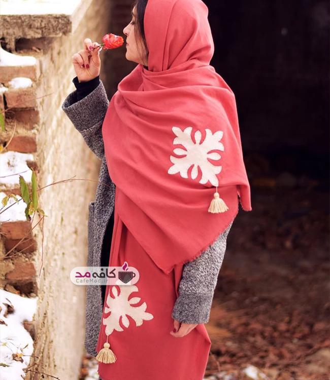 مدل شال ایرانی برند فرگون
