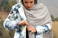 مدل مانتو برند ایرانی Silkwaymezon