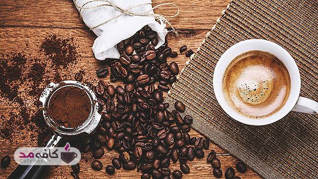 رنگ مو طبیعی با قهوه