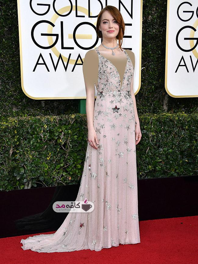 برترین لباس های مراسم Golden Globes 2017