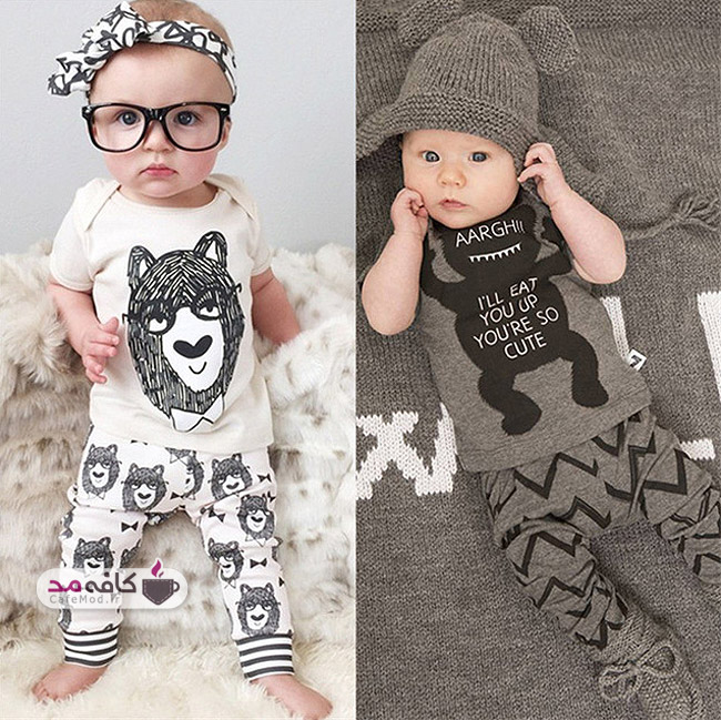 چگونه کودکم را خوش تیپ کنم؟