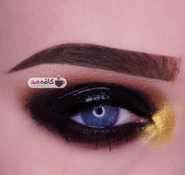 مدل آرایش چشم M E L A N I E