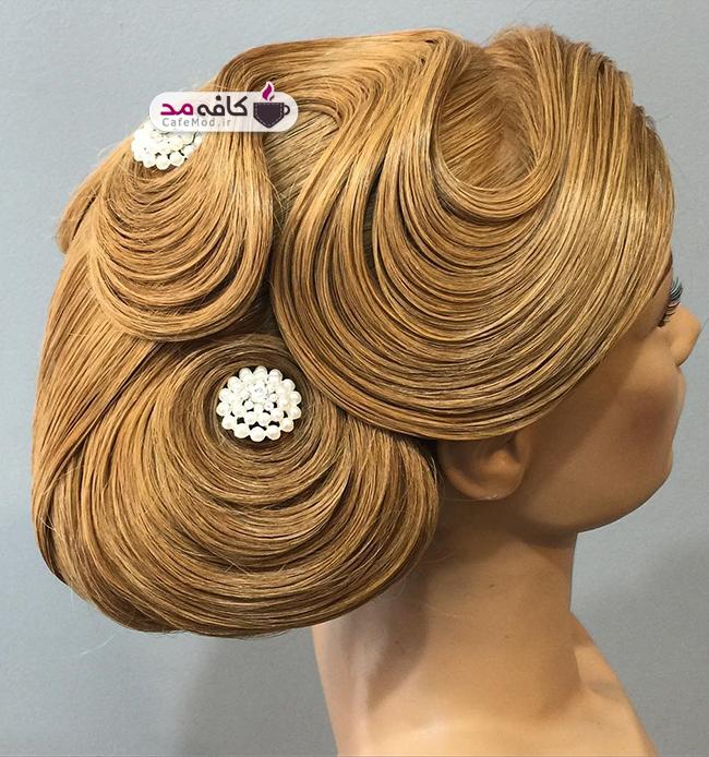 مدل های بسیار زیبا از شنیون مو
