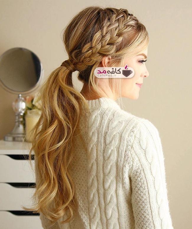 مدل آرایش و بافت مو