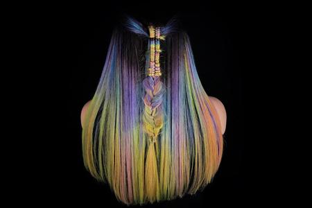 مدل های موی بسیار زیبا با رنگ های فانتزی 11