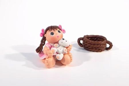 فیلم آموزش ساخت عروسک دختر روستایی
