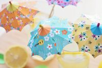 آموزش تصویری ساخت چتر تزیینی