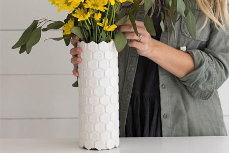 آموزش ساخت گلدان 2