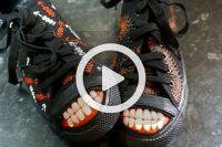 فیلم آموزش طراحی دهان روی کفش