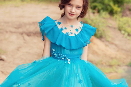 مدل لباس مجلسی دخترانه 1