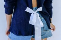 آموزش تغییر لباس با روبان