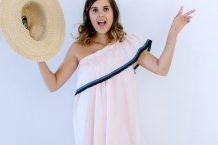 آموزش دوخت لباس با تکه حلزونی