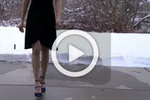 فیلم آموزش تغییر در لباس بلند