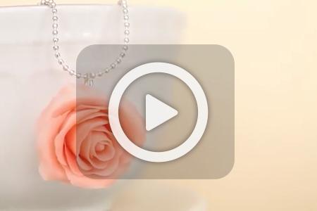 فیلم ساخت مدال خمیری گل رز