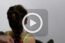 فیلم آموزش آرایش موی بچه گانه