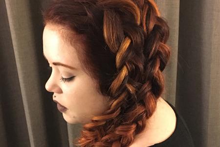 آموزش تصویری بافت موی یکطرفه
