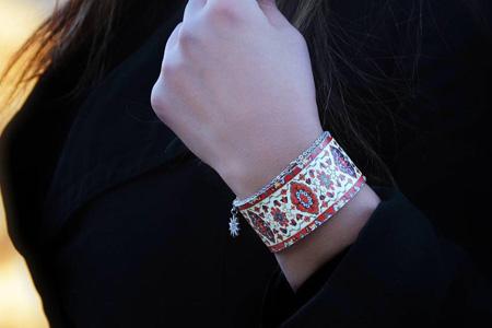 مدل دستبند ایرانی Elima Art 10