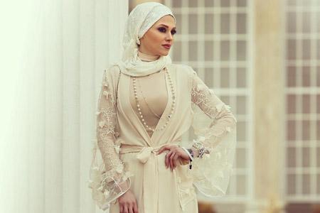 مدل مانتو مجلسی Vallentina Hijab 11