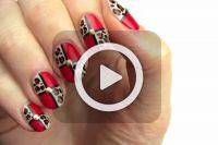 فیلم آموزش طراحی ساده روی ناخن
