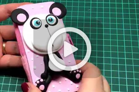 فیلم آموزش ساخت کیف موبایل عروسکی