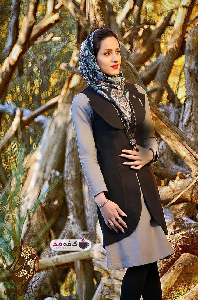مدل مانتو سنتی ایرانی ایواز