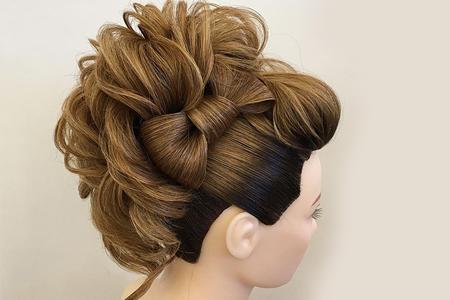 مدل هایی بسیار زیبا از آرایش مو