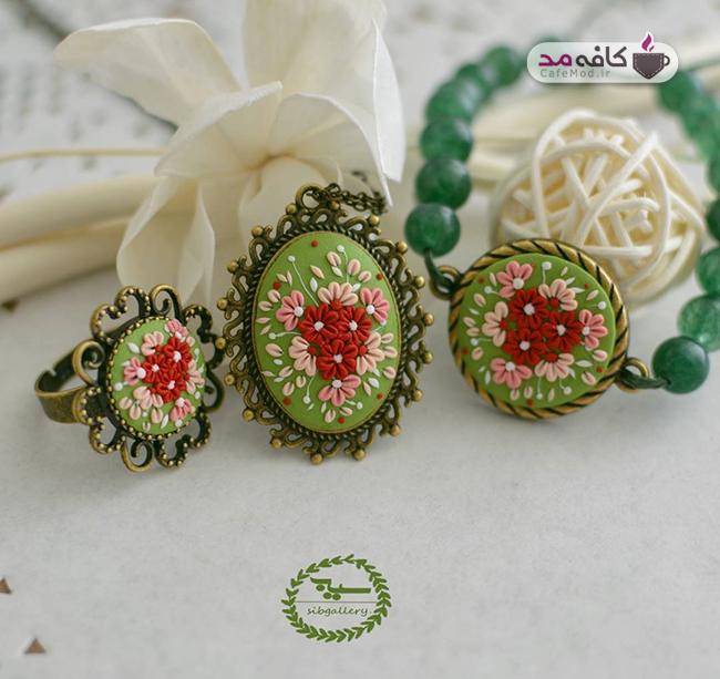 مدل زیورآلات ایرانی سیب