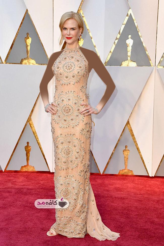 بهترین مدل لباس های مراسم اسکار 2017 - برند Armani Privé