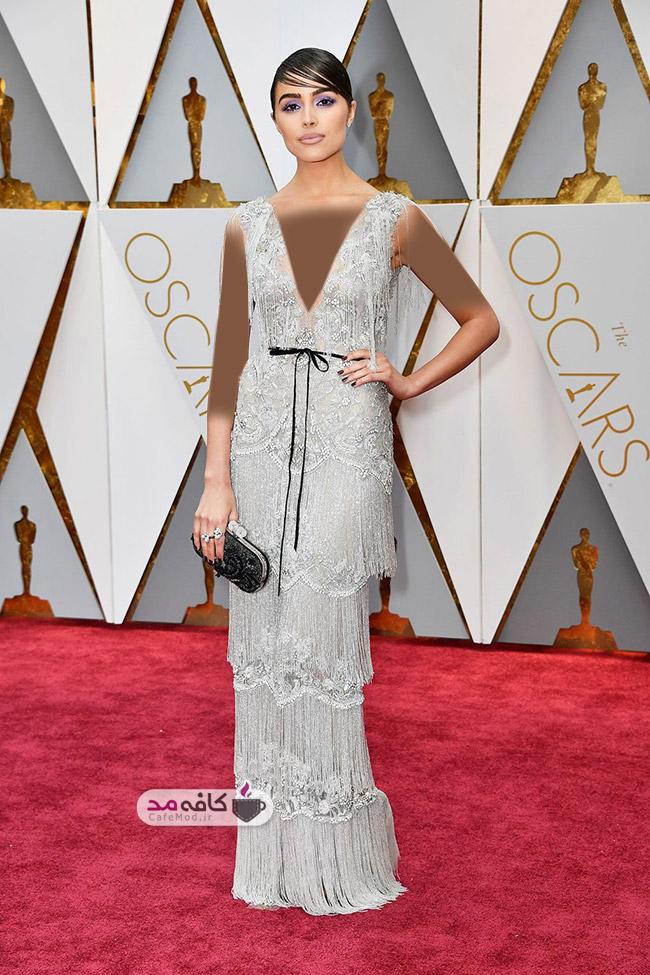 بهترین مدل لباس های مراسم اسکار 2017 - برند Marchesa