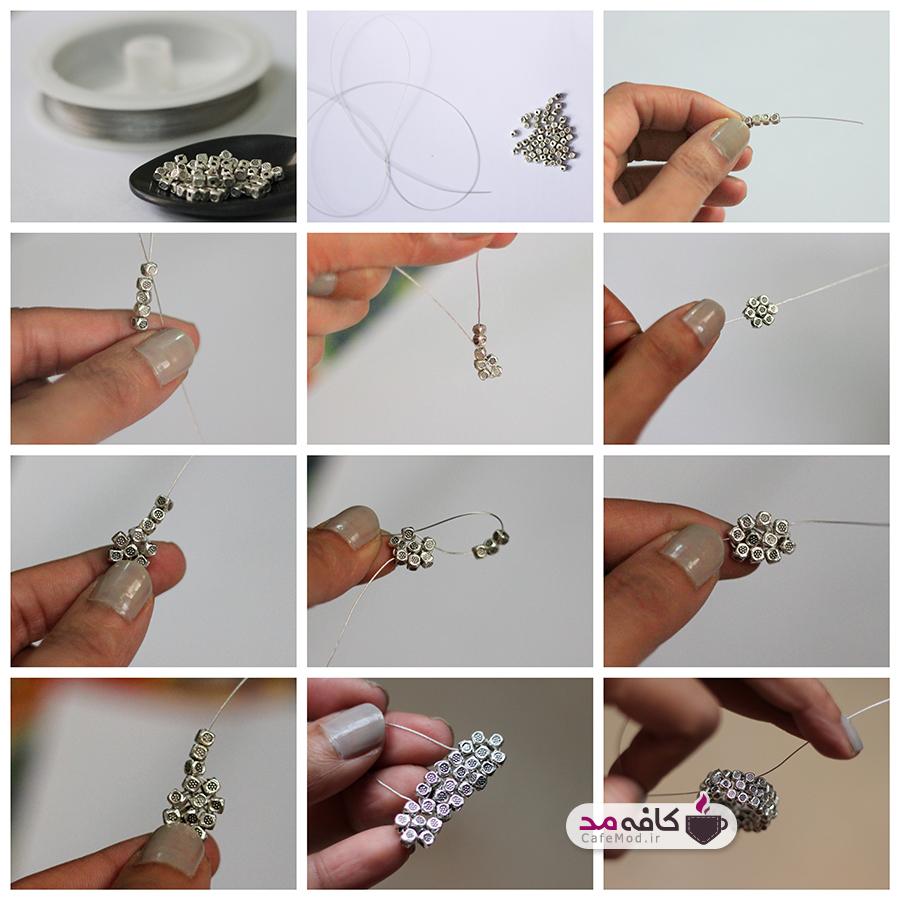 آموزش تصویری ساخت انگشتر