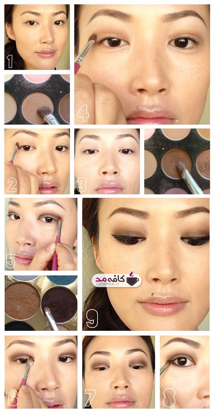 آموزش آرایش کامل ملایم صورت