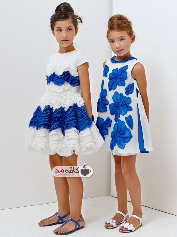مدل لباس بهاره بچه گانه