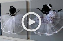 فیلم آموزش تابلو دخترهای رقاص