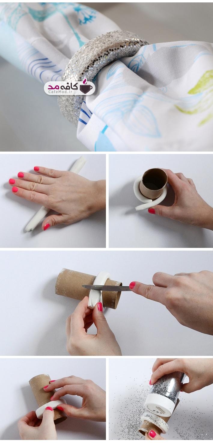 آموزش ساخت حلقه دستمال سفره