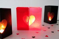 آموزش ساخت جا شمعی قلبی