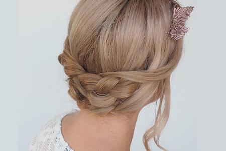 آموزش بافت موی بلند از پشت