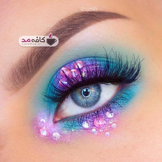 مدل آرایش رویایی چشم