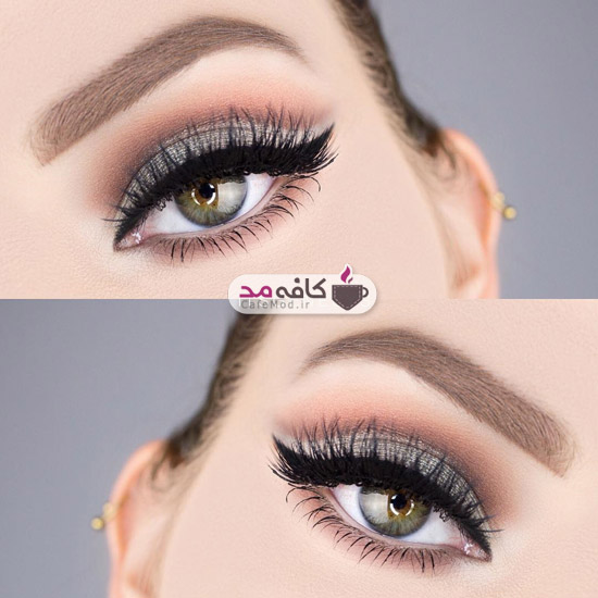 مدل آرایش و سایه چشم