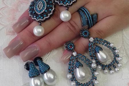 مدل جواهرات Letícia Jóias