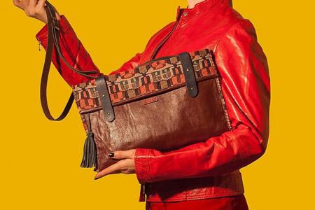 مدل کیف ایرانی برند SAZAD 10