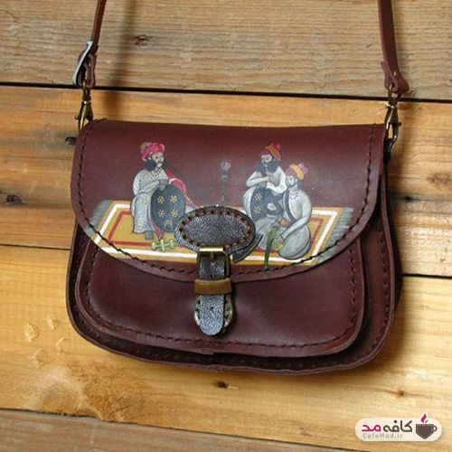 کیف ایرانی چرم چرمدوزک