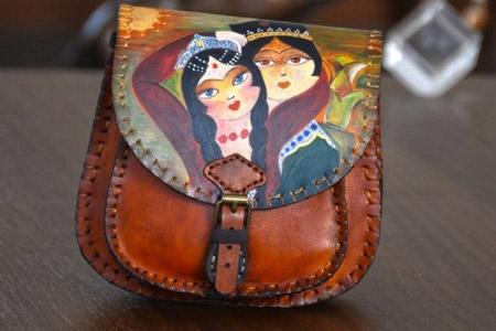کیف ایرانی چرم چرمدوزك