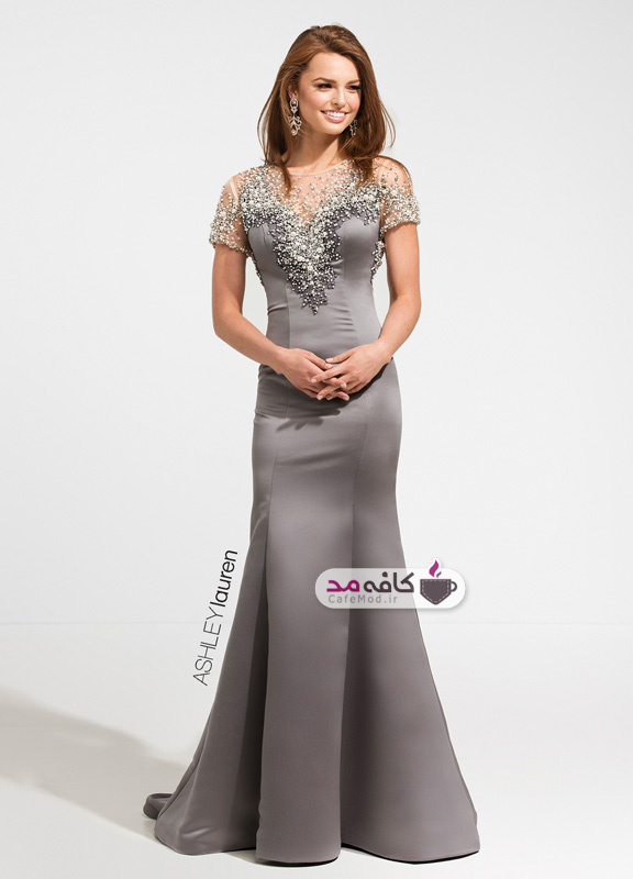 مدل لباس مجلسی Ashley Lauren
