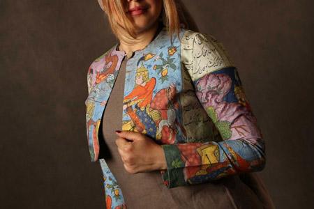 ست لباس و مانتو ایرانی Artmis 11