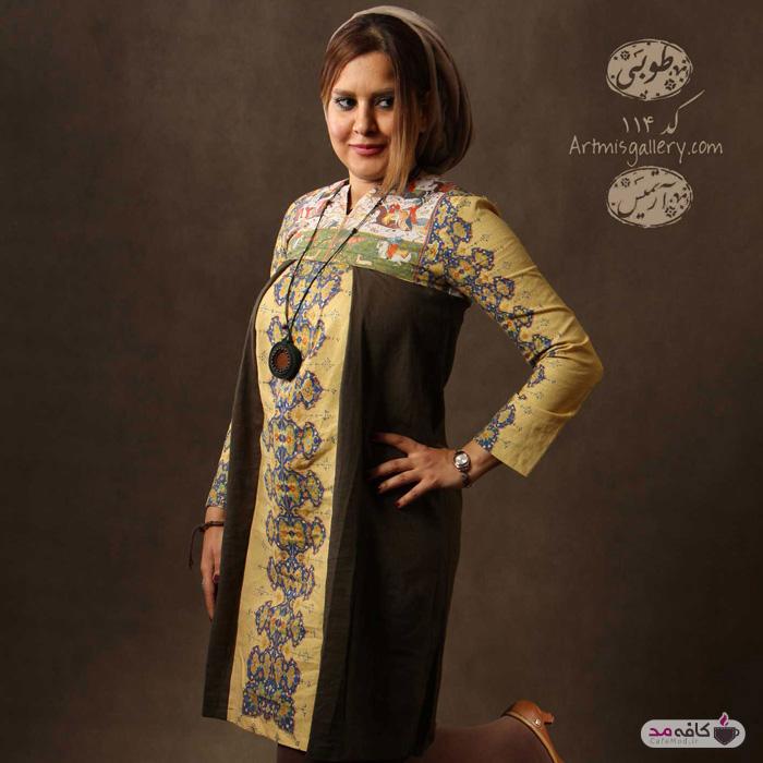 لباس زنانه ایرانی Artmis